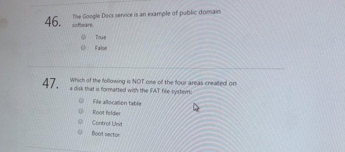 Solved The Google Docs Service Is An Example Of Public Do - Public google docs