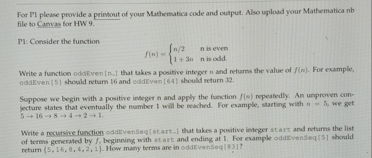 Solved: For Pl Please Provide A Printout Of Your Mathemati
