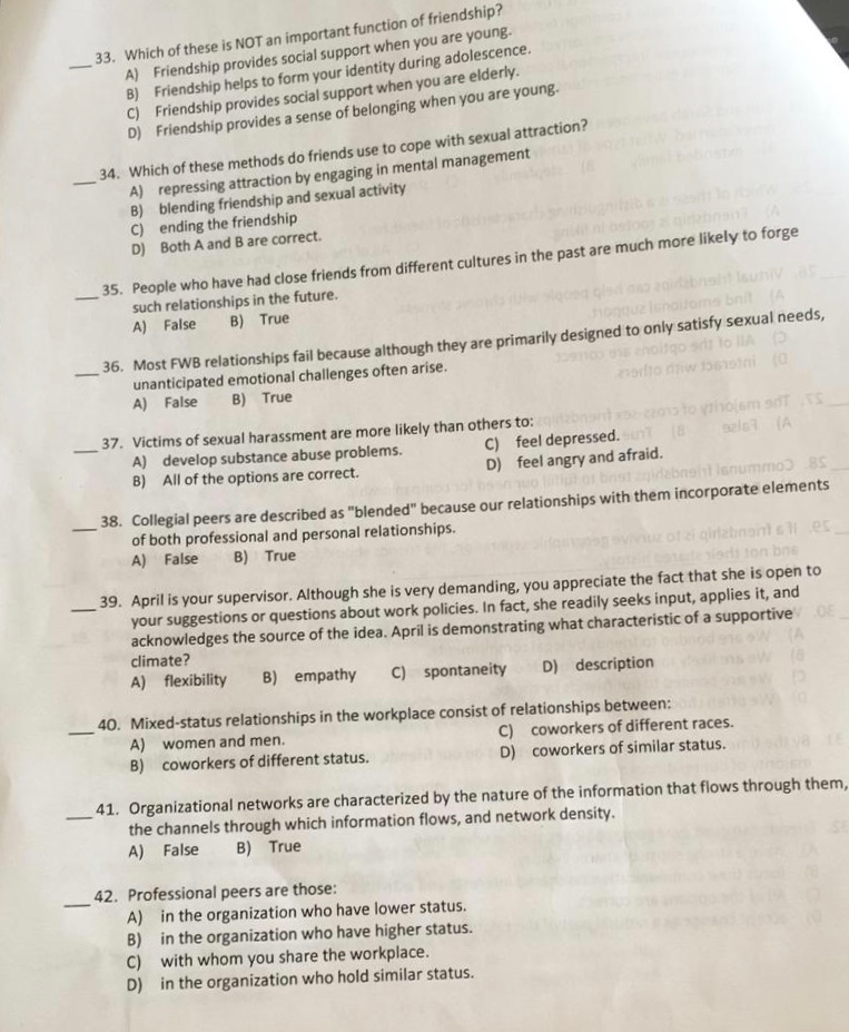 Solved: There Is 48 Multiple Choice Question Related To Co