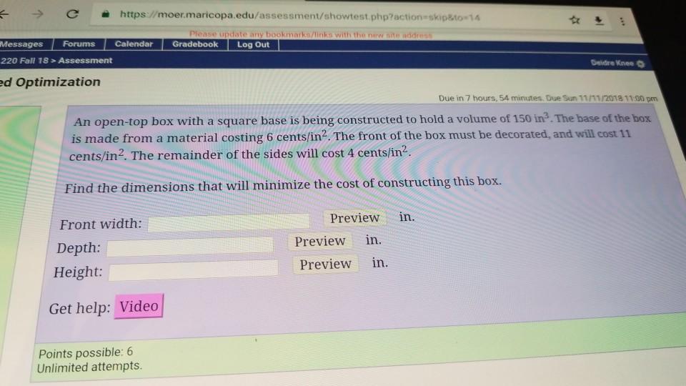 Question  E2 86 92 C Https Moer Maricopa Edu Essment Showtest Phpactiona Skipato 14  Ec 9d 84 Messages Forums Calen