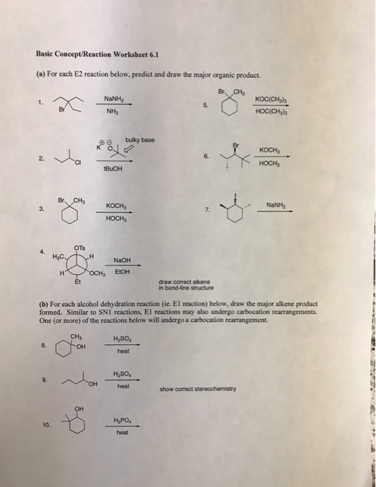 organic chemistry worksheets high likewise Chemistry For High Science Worksheets With Answers likewise  as well Printables  Chemistry Worksheets For High   Lemonlilyfestival also Organic Chemistry Worksheets High Chemistry Worksheets Word in addition Organic Chemistry Worksheets High Signs Of A Chemical also chemistry practice worksheets likewise Organic Chemistry Practice Test Types Of Chemical Reactions furthermore Collection Types Reactions Worksheet Of Chemical Key Reaction additionally Dr  Starkey's CHM 3140 Organic Chemistry I together with chemistry practice worksheets moreover Predicting Products Of Chemical Reactions Worksheet Balancing likewise Organic Reactions Worksheet also Solved  Basic Concept Reaction Worksheet 6 1  a  For Each furthermore Organic Chemistry Understanding Organic Reactions Worksheet for 9th further . on organic reactions worksheet with answers
