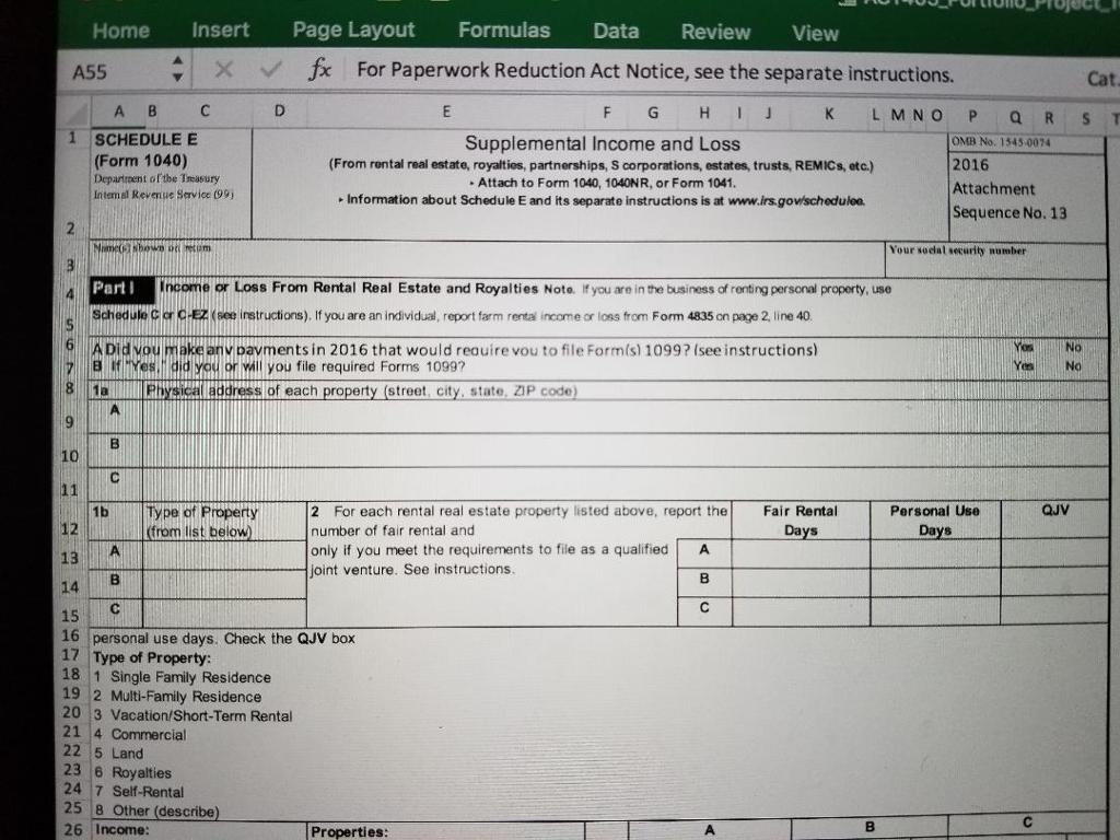 Solved: Taxpayer Information: Name: Bryan Jones Address: 1