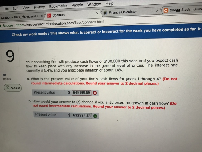Solved: El Finance Calculator C Chegg Study Guided Solutio