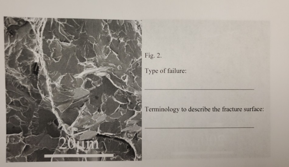 6  Identify The Failure Micromechanisms (in Terms