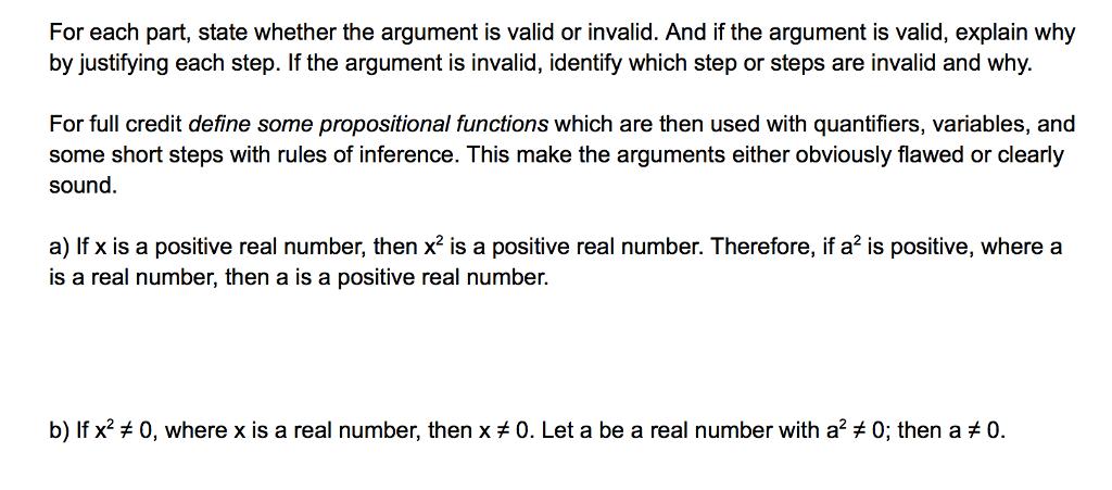 define sound argument