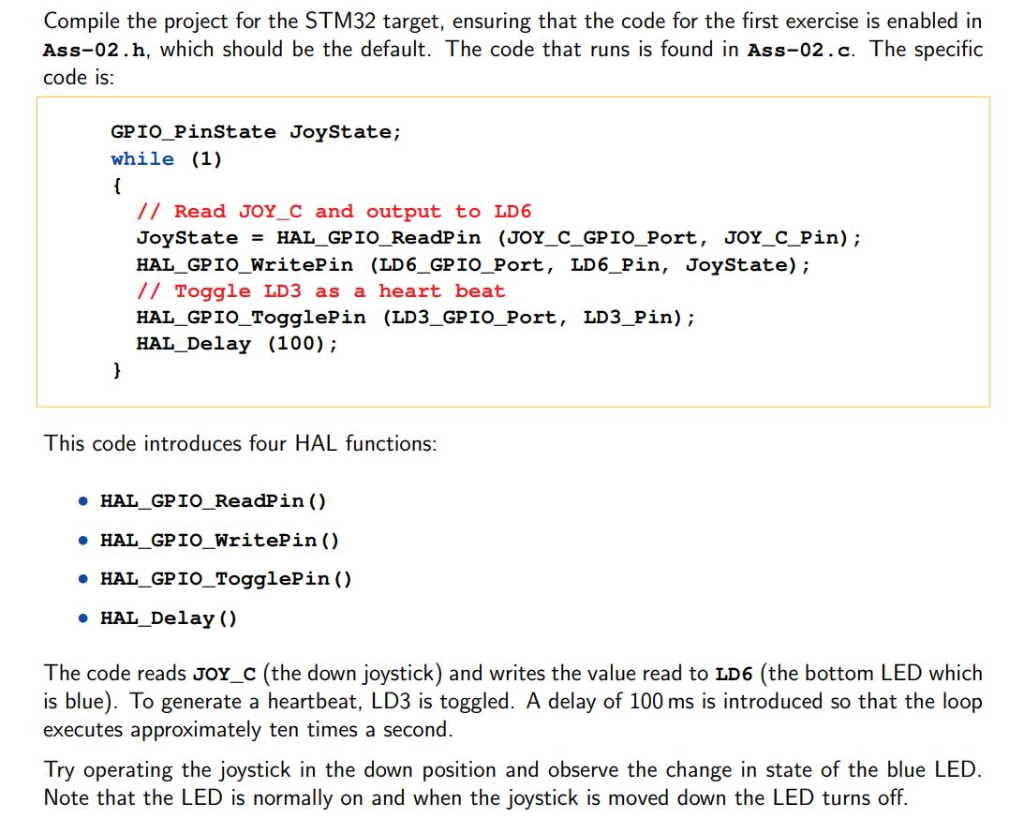 Solved: Compile The Project For The STM32 Target, Ensuring
