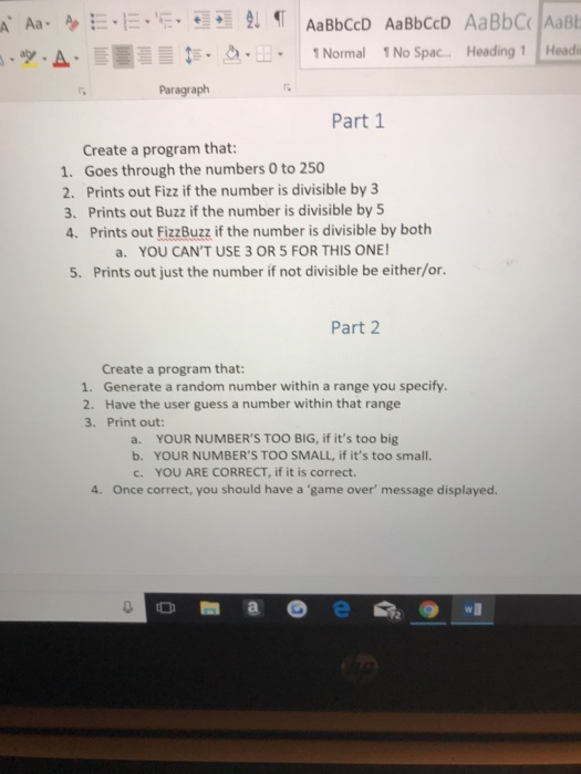 solved paragraph part 1 create a program that 1 goes th