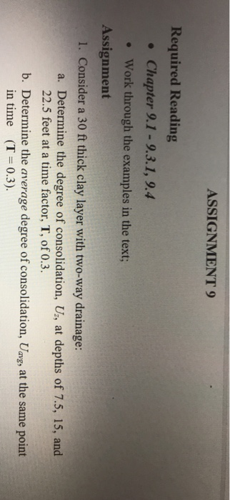 degree assignment examples
