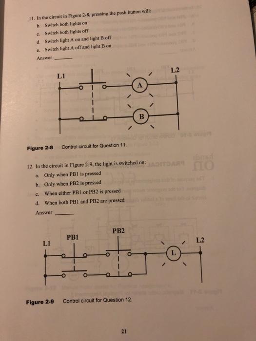 Wiring Diagram For A Magnetic Motor Starter from media.cheggcdn.com