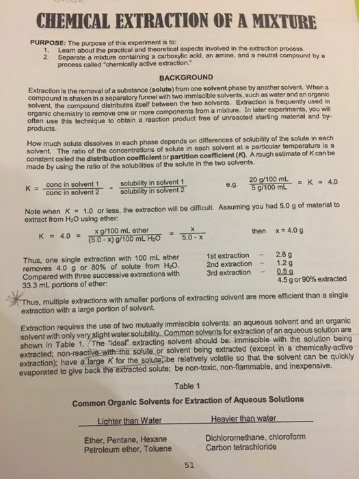 Solved I Need Help With These Organic Chemistry Lab Post Chegg Com