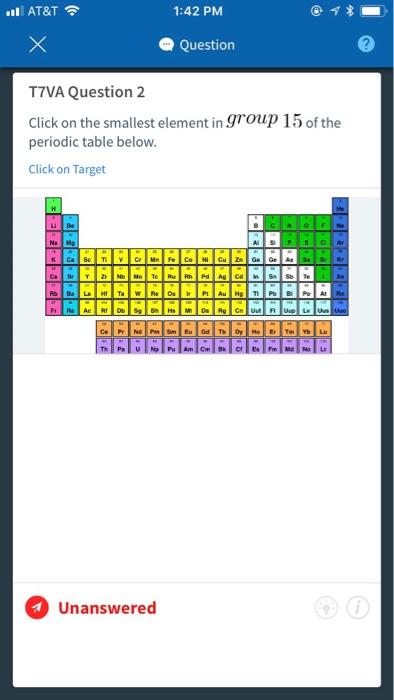 Solved All Att 142 Pm Question T7va Question 2 Click