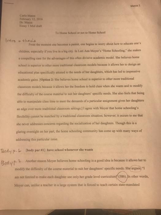 essay advantages of living with parents