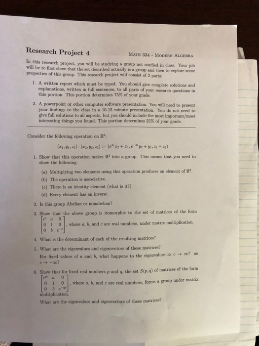 math research questions