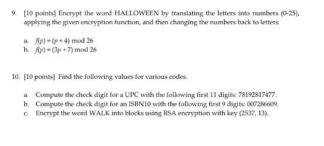 Solved: 9  [10 Points] Encrypt The Word HALLOWEEN By Trans