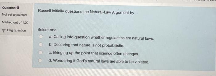 the nature argument