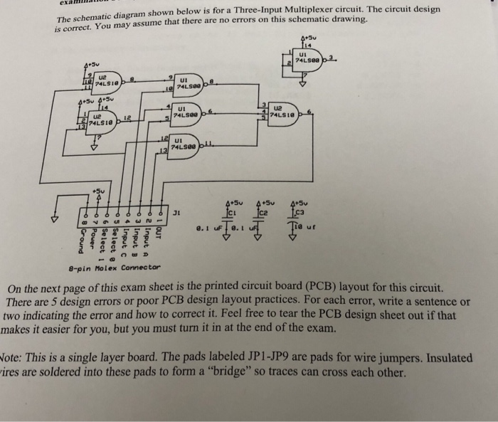 circuit board schematic diagram examinn the schematic diagram shown below is for i chegg com  examinn the schematic diagram shown