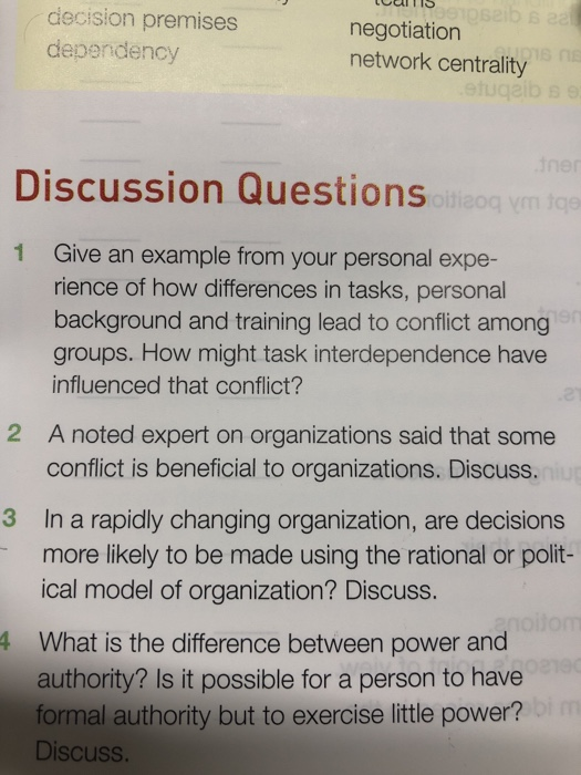 difference between power and authority in management