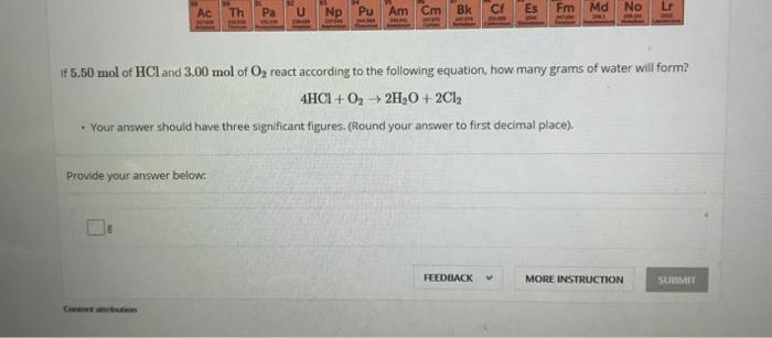 Solved: Ac Th Pa U Np Pu Am Cm Bk Cf Es Fm Md No Lr If 5 5