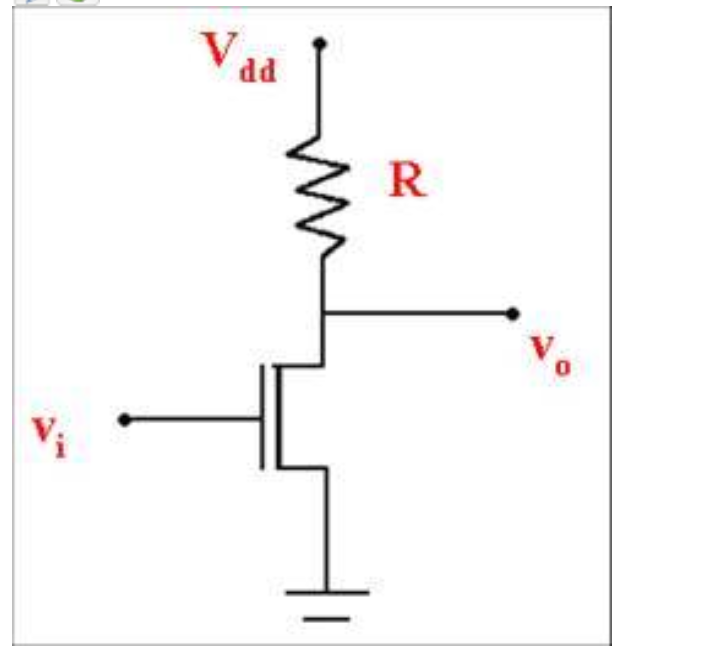 Solved: The Inverter Circuit Above Consists Of MOSFET And