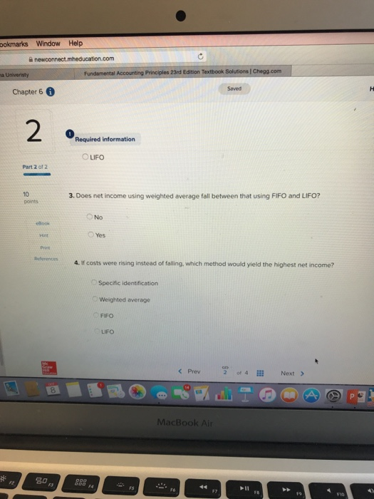 Help  mheducation com 令100% Accounting Principles
