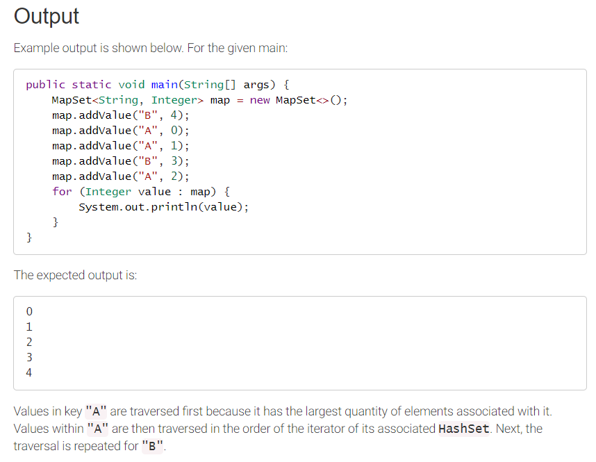Solved: JAVA QUESTION In A Package YoungBrain MapSet, Impl