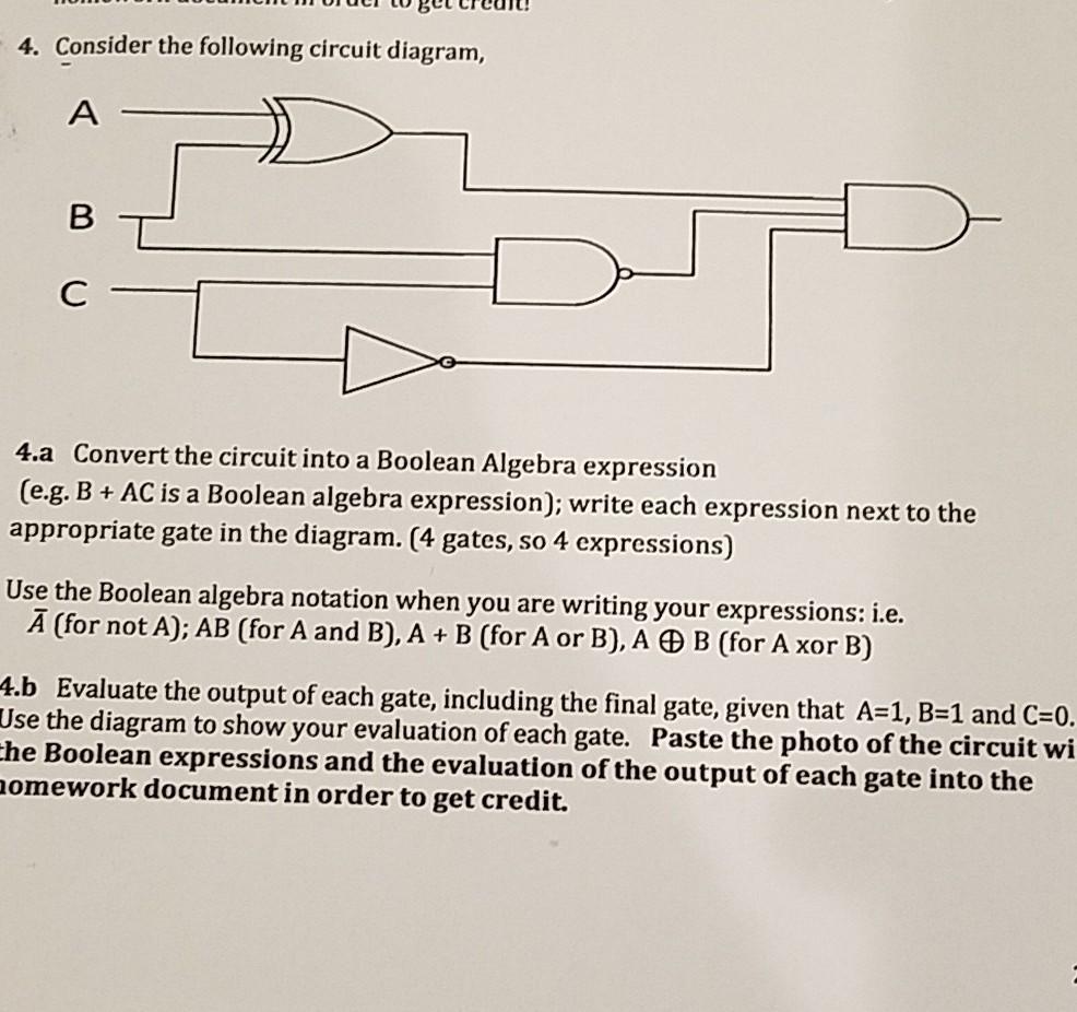 Consider the following circuit diagram, 4.a Convert the circuit into a