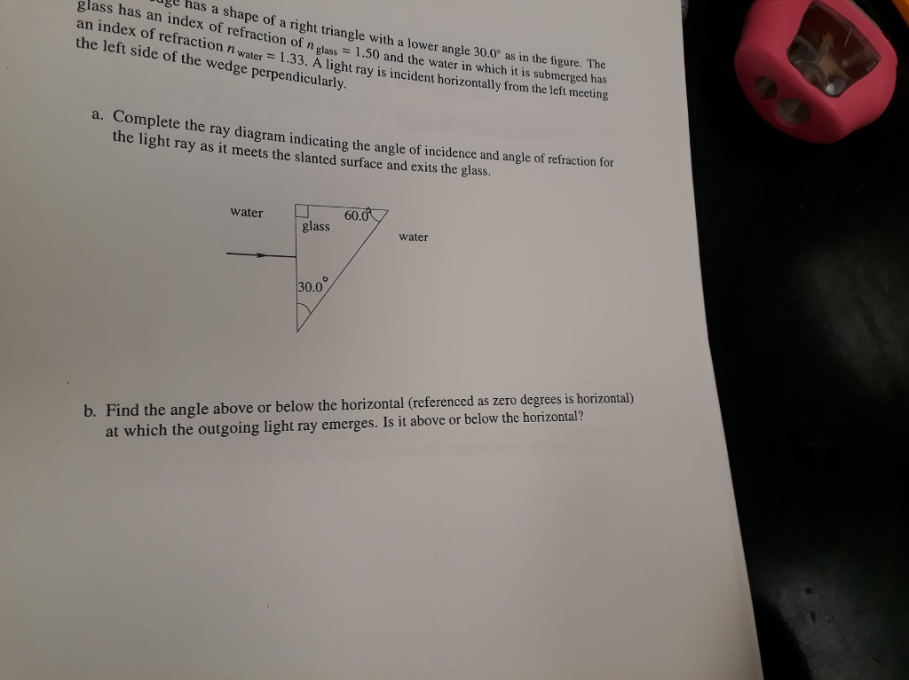 Solved: Gl Has A Shape Of A Right Triangle With A Lower An