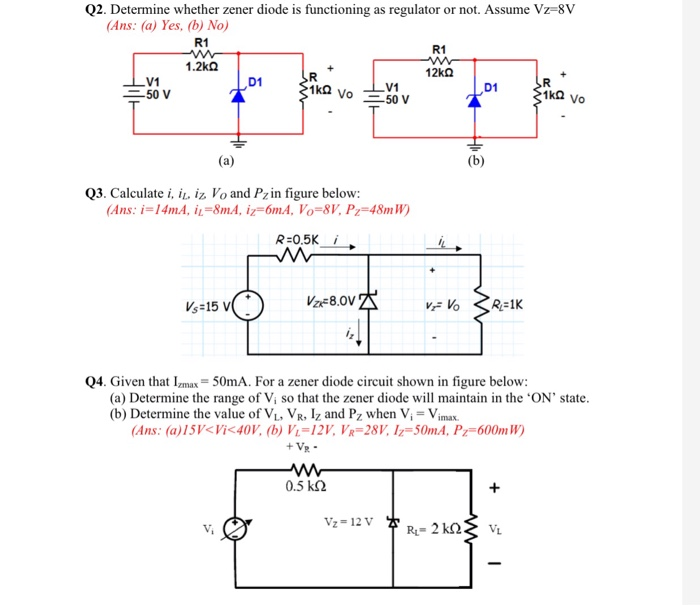 in a zener diode circuit like in the diagram below wiring diagram rh 9 16 4 systembeimroulette de