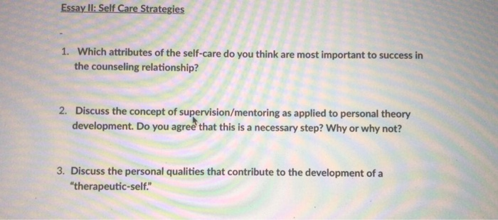 discuss the concept of supervision mentoring as applied to personal theory development
