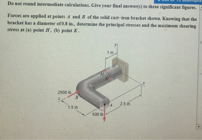 Solved do not round intermediate calculations give your do not round intermediate calculations give your final answers to three significant ccuart Gallery