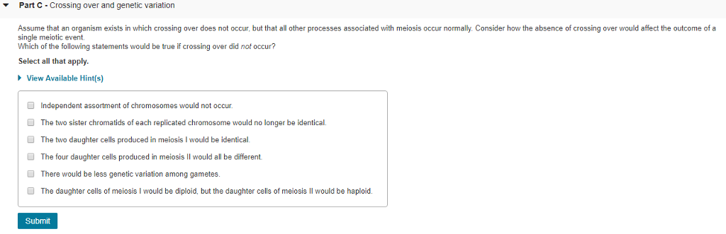 Biology Recent Questions Chegg