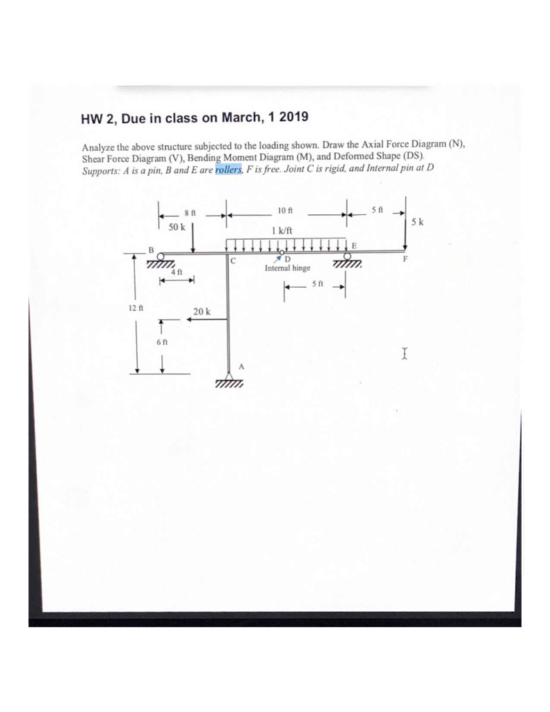Solved: HW 2, Due In Class On March, 1 2019 Analyze The Ab