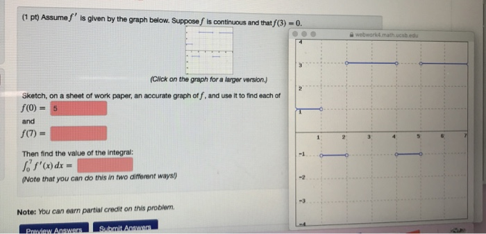 Solved: 1 Po Assumef' Is Given By The Graph Below  Suppose