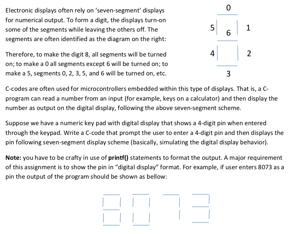 0 Electronic Displays Often Rely On 'seven-segment