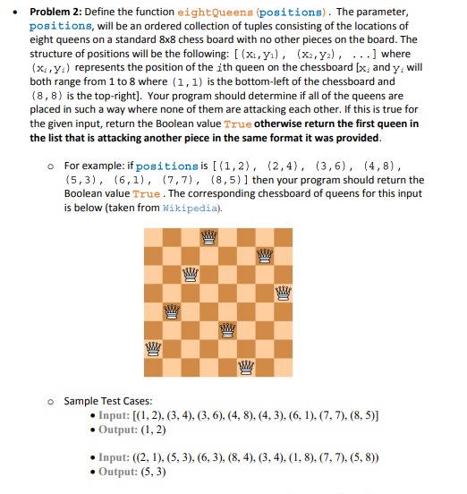 Solved: Important Note :-The Following Problem Should Be S