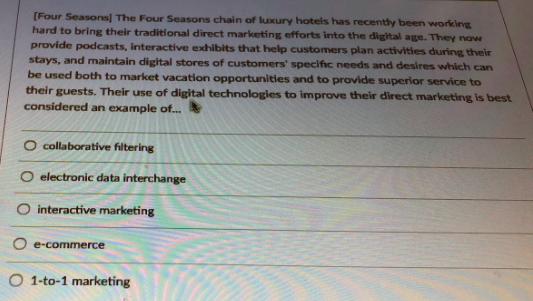 four seasons marketing