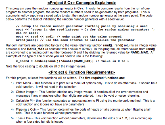 C++ Problem: No Arrays! No Global Variables! Decla