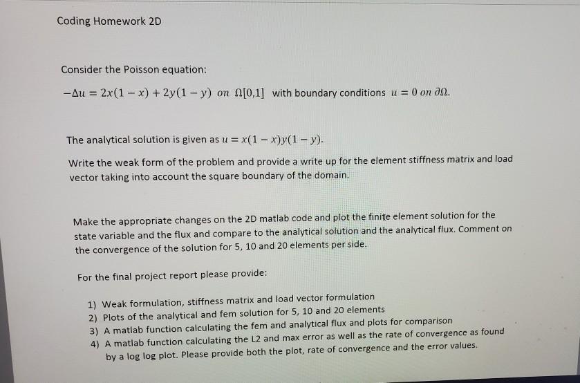 Fem Matlab Code