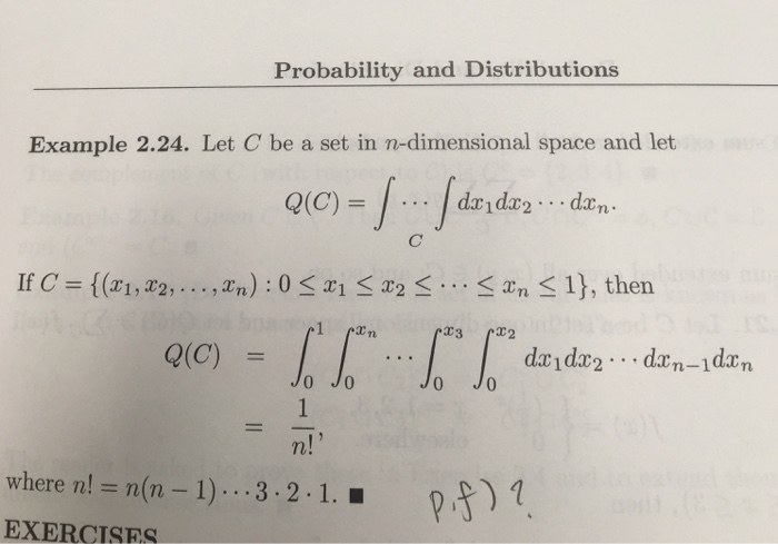 Probability And Distributions Example 2.24. Let C ...   Chegg.com