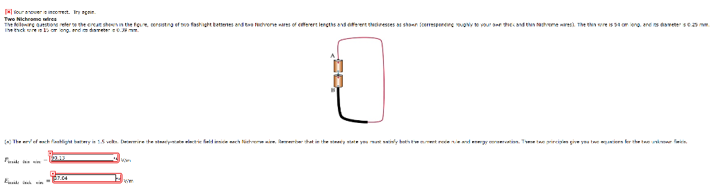 Stupendous Solved Two Nichrome Wires The Following Questions Refer T Wiring Cloud Toolfoxcilixyz