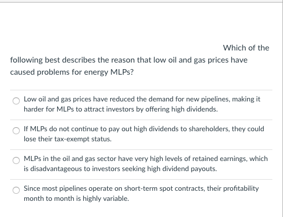 Best Gas Prices >> Solved Which Of The Following Best Describes The Reason T