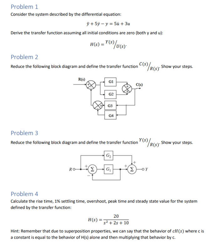 Solved    Please Ignore Question 1   Reduce The Following