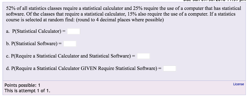 Statistical analysis software for significance tests.
