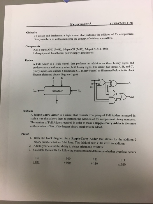 Solved  Can You Help Me Draw The Truth Table  Circuit Diag