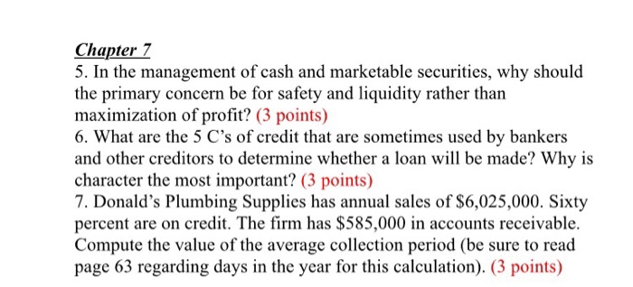 in the management of cash and marketable securities why should the primary concern be for safety and Forbes communityvoice™ allows professional fee-based membership groups (communities) to connect directly with the forbes audience by enabling them to create content - and participate in the conversation - on the forbes digital publishing platform each topic-based communityvoice™ is.