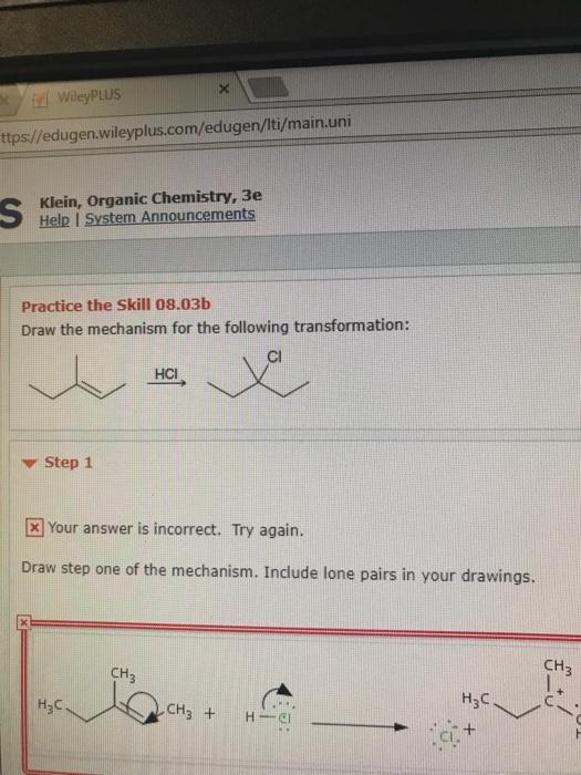 solved ii wileyplus tps edugen wileyplus com edugen iti rh chegg com Wade Organic Chemistry Test David Klein Organic Chemistry Solution Manual