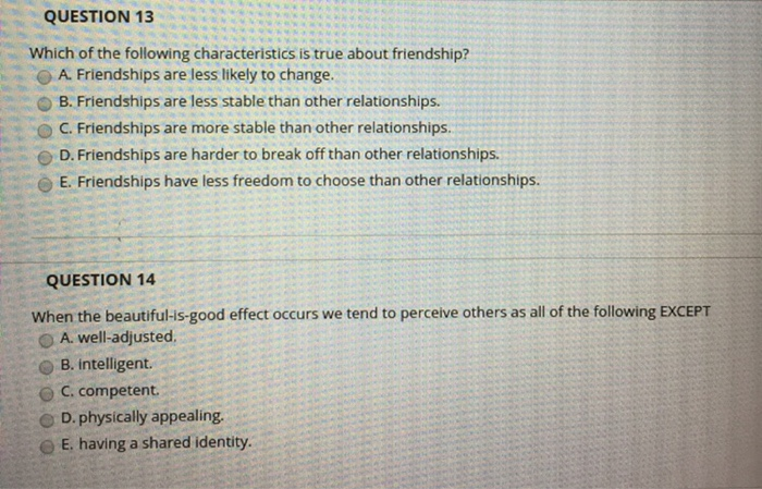 All of the following are aspects of intimacy except