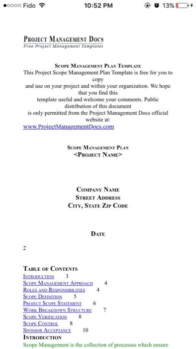 Scope Management Plan Template from media.cheggcdn.com