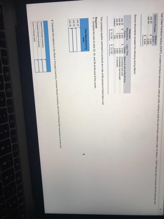 Solved: On 3/1 Job 34 4 200 Materials Forms 2,800 Job 34 J