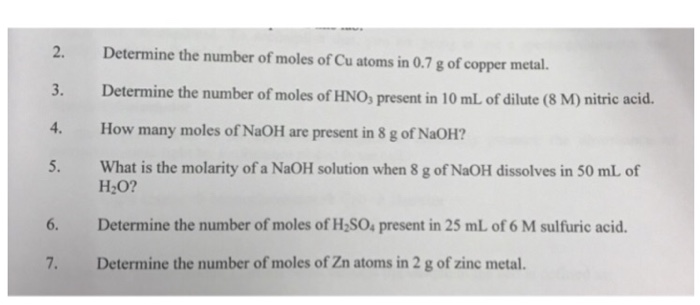 determine the number of moles for Author topic: calculating number of ions then, using the mass given and molar mass to find the number of moles.